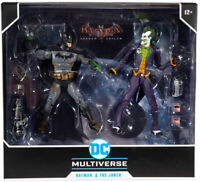 Batman VS Joker DC Multiverse McFarlane Exclusive Arkham Asylum
