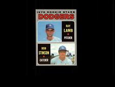1970 Topps 131 Rookie Stars Ray Lamb/Bob Stinson RC VG-EX #D633699