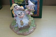 Royal Doulton Grumpys Baño SW 20 de nieve blanco y los Siete Enanitos Disney