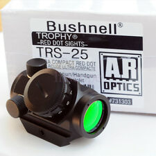 Bushnell Trophy TRS-25 Holographic Red Dot Sight Scope 25mm 731303 NO TAX FREE P