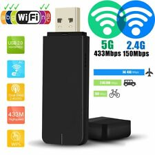 600Mbps Dual Band 2.4G/5G WiFi USB Dongle Stick Adapter for MAG 250 254 256 322