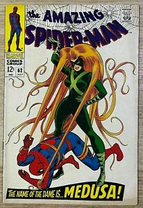 Amazing Spider-Man #62 (07/1968) Marvel Comics Silver Age Stan Lee Issue