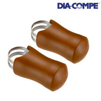 DIA-COMPE 138.7 Bracket Cover Pair for DC138 Hand Rest BROWN