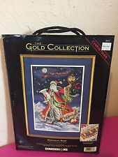 Midnight Ride (Christmas / Santa) Dimensions Gold Collection Cross Stitch #8617