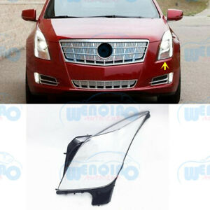 Left Side Headlight Clean Cover PC+Glue Fit for Cadillac XTS 2013-2017