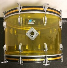 "Vintage Ludwig Vistalite 24"" Bass Drum - Made in USA"