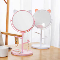 Multi-functional LED Fill Light Mirror Sprayed Touch Makeup Mirror Table Lamp