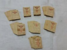 Vintage B & W Raleigh Cigarette Tobacco Coupons Lot of Over 600