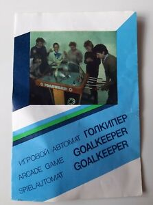 Soviet arcade hockey machine ,,Goalkeeper''