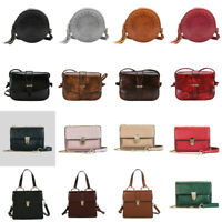Women's Shoulder Bags Crossbody Messenger PU Leather Handbags Satchel Purse Tote