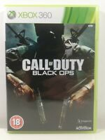 Call of Duty Black Ops Xbox 360 Game Near Mint Complete PAL UK Fast Free P&P