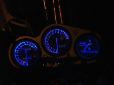 BLUE KAWASAKI ZX7R P series led dash clock conversion kit lightenUPgrade
