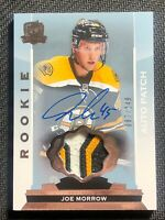 2014-15 UPPER DECK THE CUP JOE MORROW ROOKIE AUTO PATCH #ed 87/249