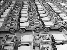 WW2 WWII Photo World War Two  Jeep Production Willys Ford US Army / 3145