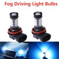 New Super Bright H11 H8 H9 LED Headlight Bulb Kit Performance 80W 8000K Ice Blue