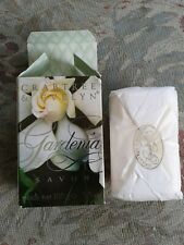 CRABTREE & EVELYN Gardenia soap new in box 3.5 oz / 100gm