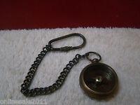 AV Crafts Brass Royal Navy Nautical Marine Directional Pocket Compass keychain