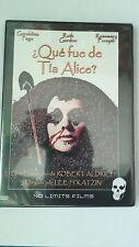 """DVD """"¿QUE FUE DE TIA ALICE?"""""""