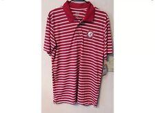 NWT Alabama Knights Apparel Red/White Rivalry Golf Polo Mens Shirt Medium S7