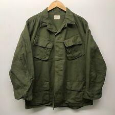 Vintage Jungle Fatigue Shirt / Rip-Stop, Size Medium/Regular Us Army K-3