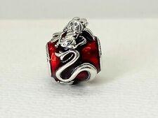 Genuine Pandora Disney Mulan Mushu Charm Bead 798632C01