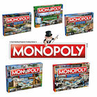 Monopoly Regional Edition Board Game 21 Options To Choose! Liverpool City & more