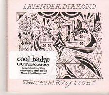 (GC474) Lavender Diamond, The Cavalry Of Light [EP] - 2007 DJ CD