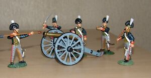 Frontline RHA.1 - British Foot Artillery 5 Crew Sighting Gun