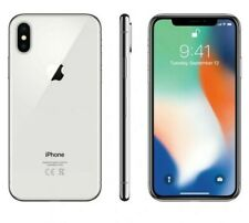 Brand New Apple iPhone X  256GB  Silver Unlocked A1865 Cell Phone  Smartphone