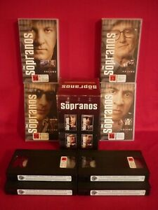 THE SOPRANOS FIRST SEASON VHS VIDEOS x 4 VGC CLASSIC GANGSTERS NEW ZEALAND ISSUE