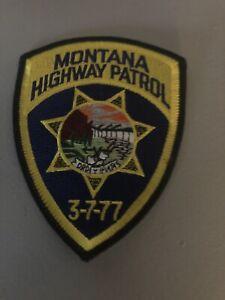 Montana Highway Patrol  Police  Patch