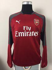 Arsenal PUMA Red Training Football Sweatshirt Top 2017/18 (L)