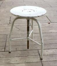 Old swivel stool, workshop stool, Industrial Style Vintage