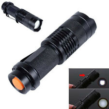 Brand New 2000LM Adjustable Zooma XM-L T6 LED Flashlight Torch Focus Light Lamp