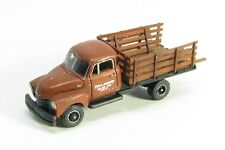 N Scale 50's 3800 Chevy One Ton Flatbed Truck kit by Showcase Miniatures (95)
