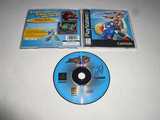 PLAYSTATION VIDEO GAME MEGA MAN X4 COMPLETE W MANUAL CAPCOM MEGAMAN PS1 >>