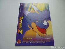 Carte originale Dragon Ball Z Fighting Cards N°29 / Panini 1999 BIRD STUDIO