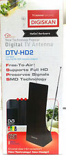 DIGITAL HD TV ANTENNA  INDOOR, AMPLIFIED FREE TO AIR CLEAR RECEPTION UHF/ VHF