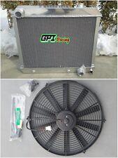 3 Row FOR Chevy Pickup Truck C10/C20/C30 K10/K20 1963-1966 aluminum radiator+FAN