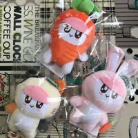 SEVENTEEN HARU Happy Ending SHOWCASE BONG BONG stuffed toy plush set carrot cat