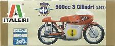 KIT ITALERI 1:9  MOTO MV AGUSTA 500cc 3 CILINDRI 1967       ART 4604