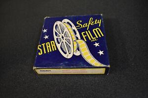 Vintage B/W Silent 16mm Star Film Mutt And Jeff Globe Trotters