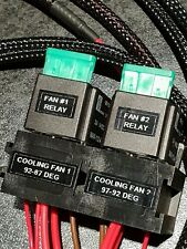 LHD Escort RS Turbo / CVH Twin Speed Cooling Fan Loom.