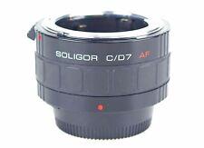 Nikon Af Digital Soligor Kenko 2x Tele-Converter C/D7 N / Af Dealer 7 Pins