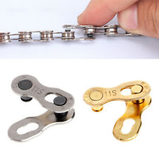 2x Steel KMC Missing Bike Master Chain Link Connector 11 Speed Chains Quick Clip