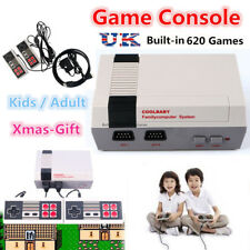 Mini Retro TV Game Console Classic 620 Games Built-in w/2 Controller Kid Gift UK