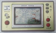 NINTENDO GAME AND WATCH SNOOPY TENNIS SP-30 (1982) RETRO ! VINTAGE