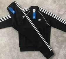 Mens Adidas Originals Superstar SST FZ Jacket Top & Bottoms Pants Tracksuit Set