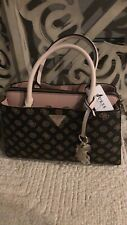 Guess Maddy Womens Handbag Brown/Brush Brand New With Tags