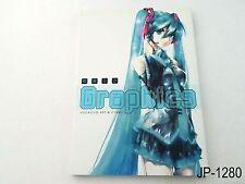 Hatsune Miku Graphics Vocaloid Art & Comic Japanese Artbook Fanbook Japan Book